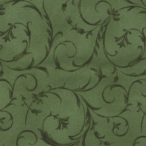 Maywood Studio groen scroll dubbelbreed