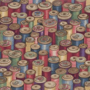Andover Haberdashery Cotton Reels klosjes