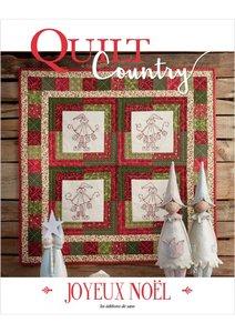 Quilt Country nr.54 Joyeux Noël