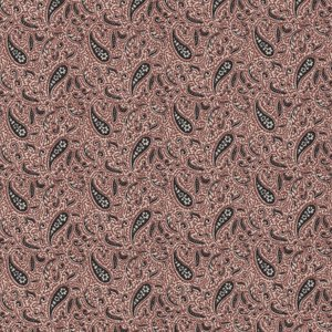 Windham Fabrics Kindred Spirits Sisters ecru zwart paisley