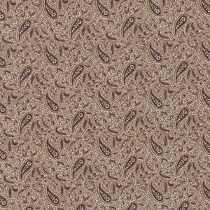 Windham Fabrics Kindred Spirits Sisters ecru bruin paisley