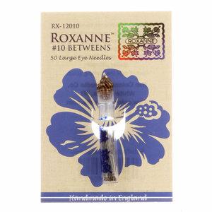 Roxanne Betweens quiltnaalden maat 10 (50 stuks)