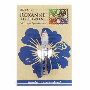 Roxanne Betweens quiltnaalden maat 12 (50 stuks)