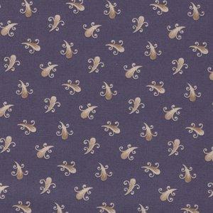 Windham Fabrics Clayton paars ecru werkje