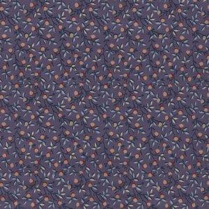 Windham Fabrics Clayton paars ecru besje