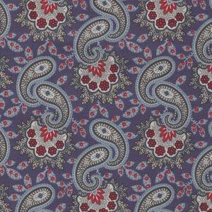 Windham Fabrics Clayton paars paisley