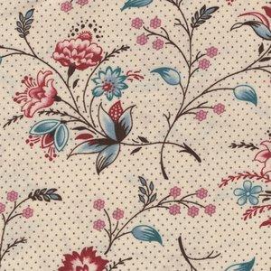 Marcus Fabrics Bathwick ecru fijne bloem