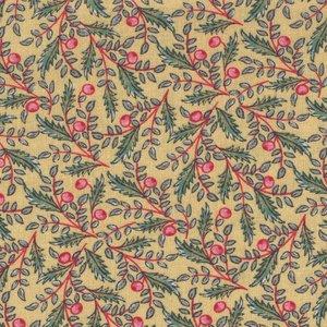 Windham Fabrics Susannah geel takje