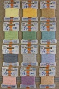 Sajou Retors Du Nord borduurgaren 12 kleuren pastel sortering 4