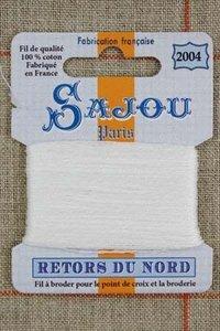 Sajou Retors Du Nord borduurgaren 2004 off white
