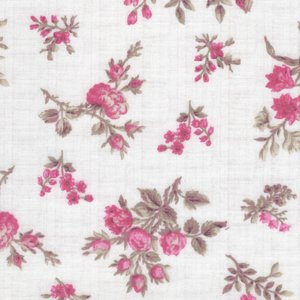 Penny Rose Fabrics English Rose ecru kleine roos