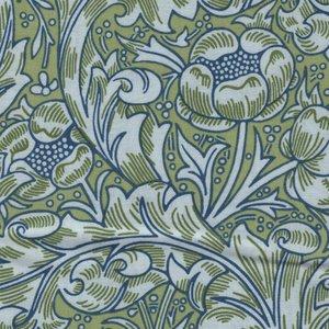 Free Spirit / Morris & co. Kelmscott groen grote tak