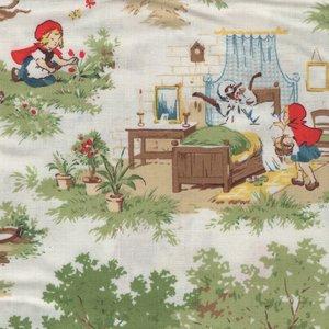 Windham Fabrics Little Red Riding Hood roodkapje scenes