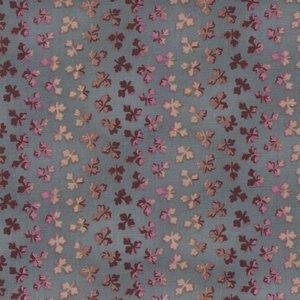 Windham Fabrics Larisa blauw bruin werkje