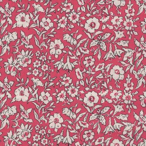 Liberty London The cottage garden roze wit bloem