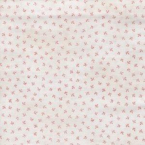 Andover/Makeower Dream ecru met een roze werkje