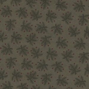 Marcus Fabrics Pieceful Pines groen takje