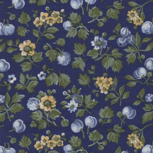 Liberty London The Orchard Garden blauw bloem