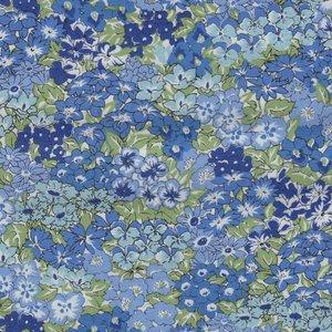 Liberty London The Orchard Garden blauw bloem