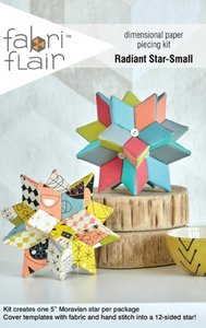 Radiant Star-small paper piecing kit