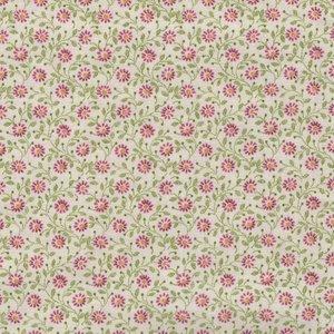 Henry Glass Windsor Park ecru roze bloemetje