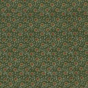 Henry Glass Windsor Park groen bloemetje