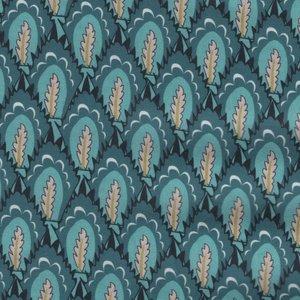 Eyelike Fabrics Hindelopia II blauw veer