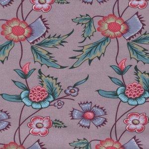 Eyelike Fabrics Hindelopia II lila bloem