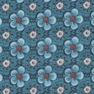 Eyelike Fabrics Hindelopia II blauw boemen