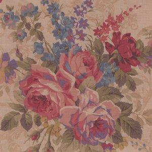 Lecien Antique Rose tan roze grote roos