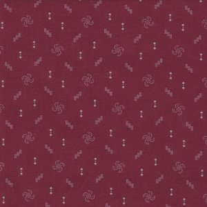 Windham Fabrics Kindred Spirits Gathering rood werkje