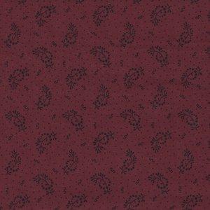 Windham Fabrics Kindred Spirits Gathering rood werkje
