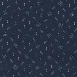 Windham Fabrics Kindred Spirits Gathering blauw werkje