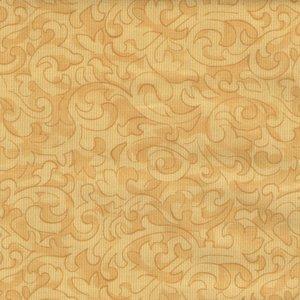 Windham Fabrics Color Wall geel scroll
