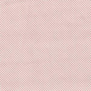 Tilda Classic Basic ecru roze stipje