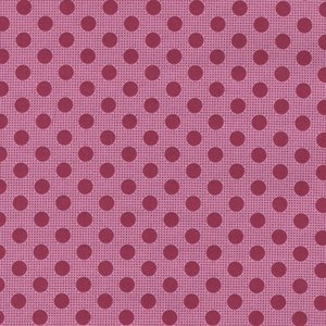 Tilda Medium Dots roze stip