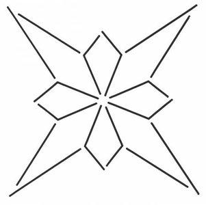 Quilt Stencil Small Design