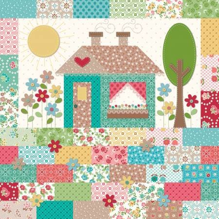 Granny Chic House Pillow Kit (61x61 cm)