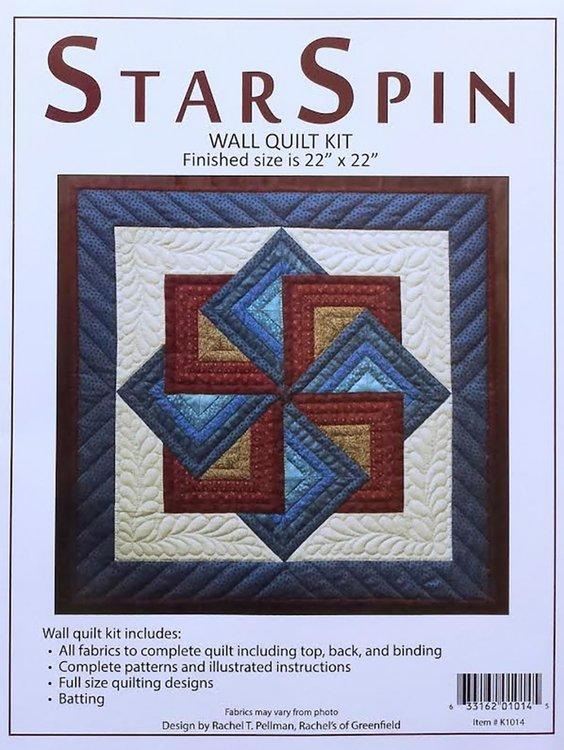 Starspin Kit, compleet pakket miniquilt