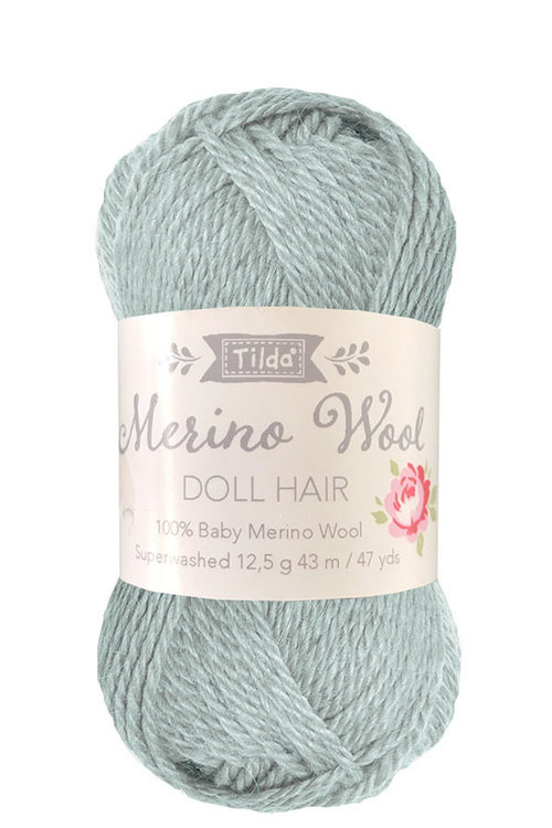 Tilda wol voor poppenhaartjes Sage