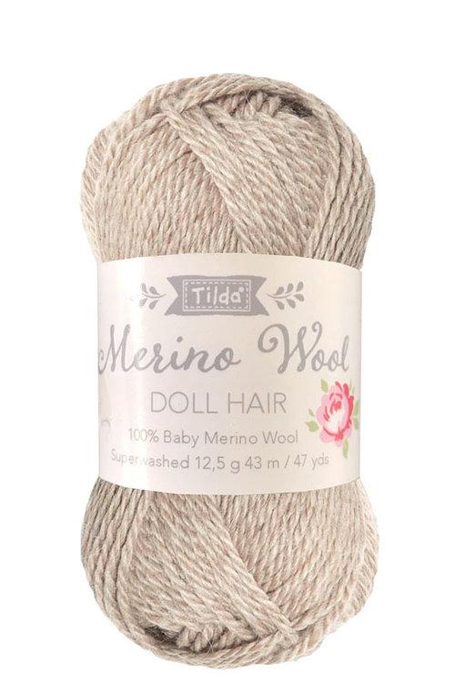 Tilda wol voor poppenhaartjes Blonde