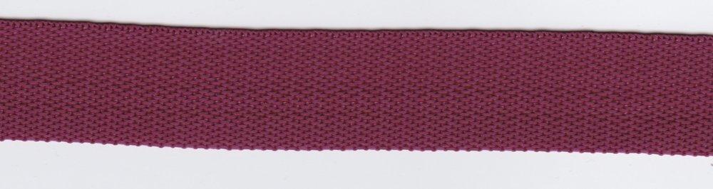 Tassenband wijnrood 24mm