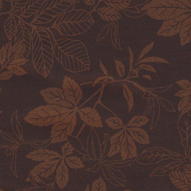 Studio E Modern Leaf bruin met bruin blad