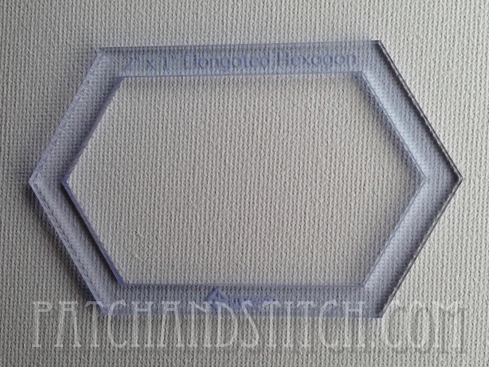 Imprezzio Template Elongated Hexagon, verlengde hexagon