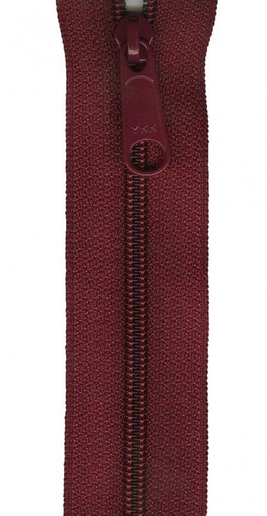 YKK rits 22 inch (55cm) burgundy
