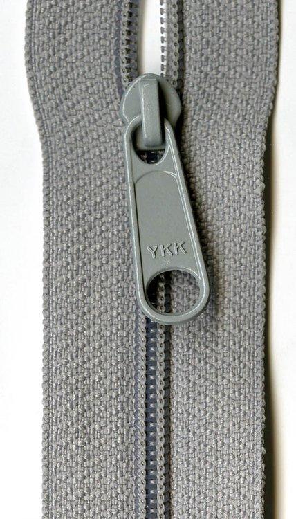 YKK rits 22 inch (55cm) pearl grey