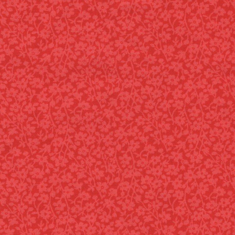 Windham Quilt Back rood met lichter takje dubbelbreed