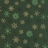 Makeower Christmas Ombre Snowflake groen sterretjes_