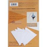 Fabri Flair Trilliant Ornament dimensional paper piecing kit_
