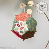 Fabri Flair Brio Sphere-Small dimensional paper piecing kit_